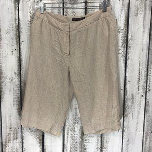Apostrophe Bermuda shorts Linen blend